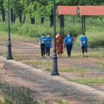 लुम्बिनीमा विश्व स्वास्थ्य सङ्गठनको 'हिँड्दै कुरा गर' अभियान