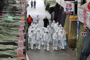 चौथो वेभ आएको दक्षिण कोरियामा २४ घन्टामा अहिलेसम्मकै बढी सङ्क्रमित
