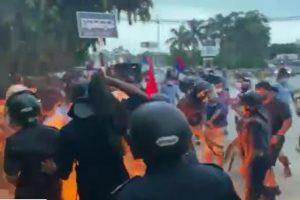 गृहमन्त्रीको राजीनामा माग गर्दै रूपन्देहीमा युवा संघको प्रदर्शन