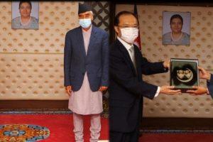 प्रधानमन्त्रीसँग जापान र अष्ट्रेलियाका राजदूतको भेट