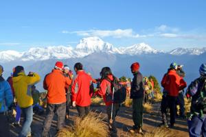 ११ सय पर्यटक नेपाल भित्रिए